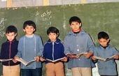 مدرسه رفتن ارژنگ امیرفضلی + عکس
