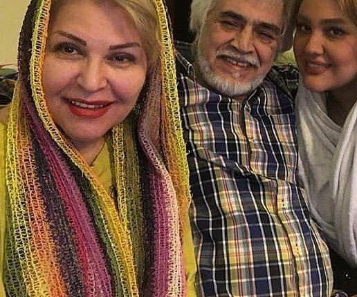 خانم بزرگ ستایش در کنار همسر و دخترش+عکس