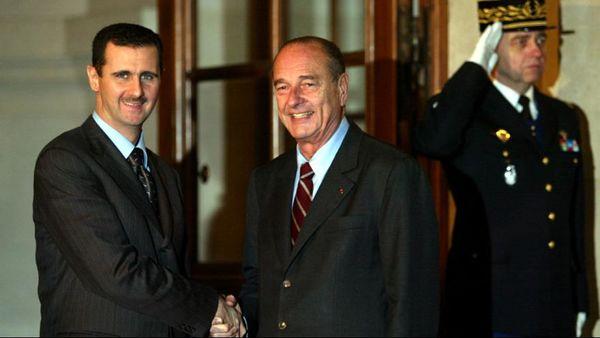 فرانسه نشان شوالیه را از بشار اسد پس می گیرد (+عکس)