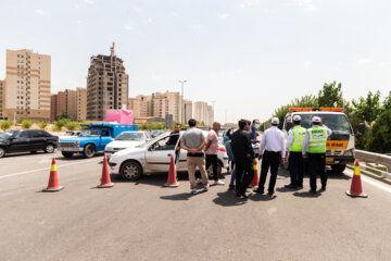 محدودیت تردد در آزادراه تهران شمال