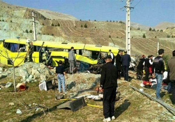 واژگونی اتوبوس در یکی از واحدهای دانشگاه آزاد با ۷ کشته