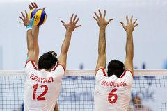 ایران برنده ست نخست دیدار با صربستان