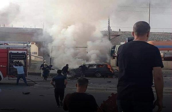 انفجار خودرو درکرکوک یک کشته برجای گذاشت