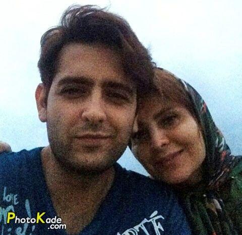 امیرحسین آرمان و مادر جوانش در طبیعت+عکس