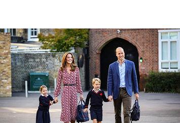 مدرسه رفتن سلطنتی!+عکس