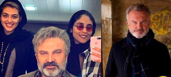 شباهت دیدنی بازیگر ایرانی به بازیگر هالیوودی+عکس