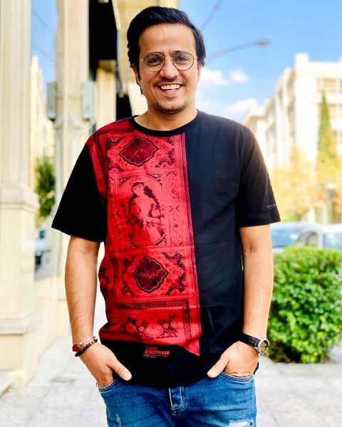 تی شرت ایرانی سنتی آقای بازیگر + عکس