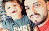 پدرام کریمی و پسرش + عکس