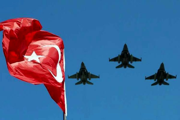 ۱۵ عنصر «پکک» در حملات هوائی ترکیه کشته شدند