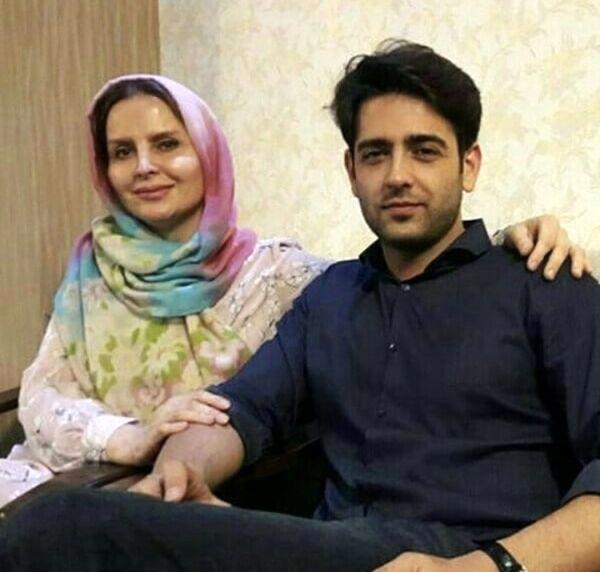 امیرحسین آرمان در کنار مادرش + عکس