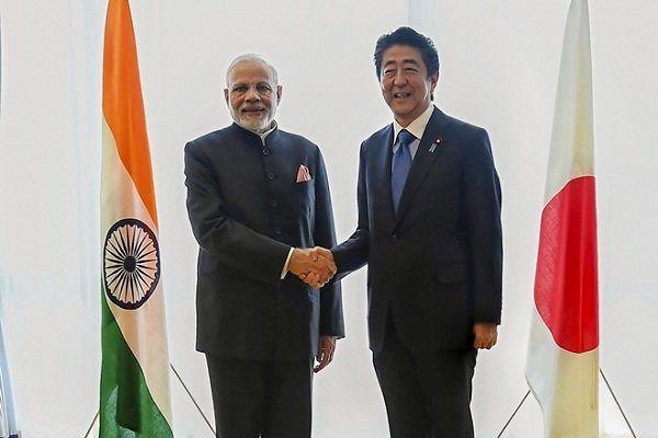نخستوزیر هند با همتای ژاپنی خود دیدار کرد