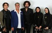 قیافه با ابهت شازده ارسلان در جشن همسر علی معلم+عکس