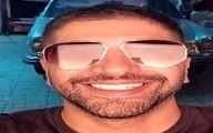آقای خواننده همیشه خندان و عینک خاصش+عکس