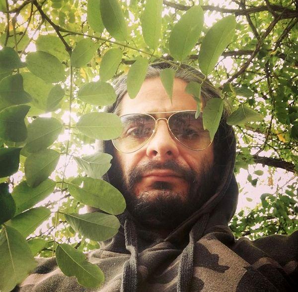 علیرضا رئیسی در دل طبیعت + عکس