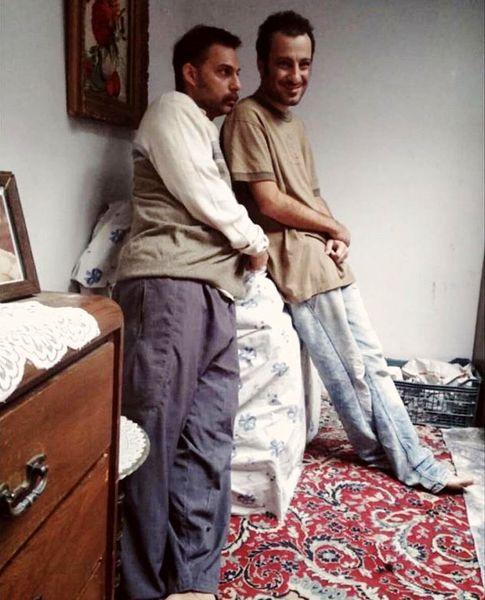 لاغری شدید نوید محمدزاده برای یک فیلم+ عکس