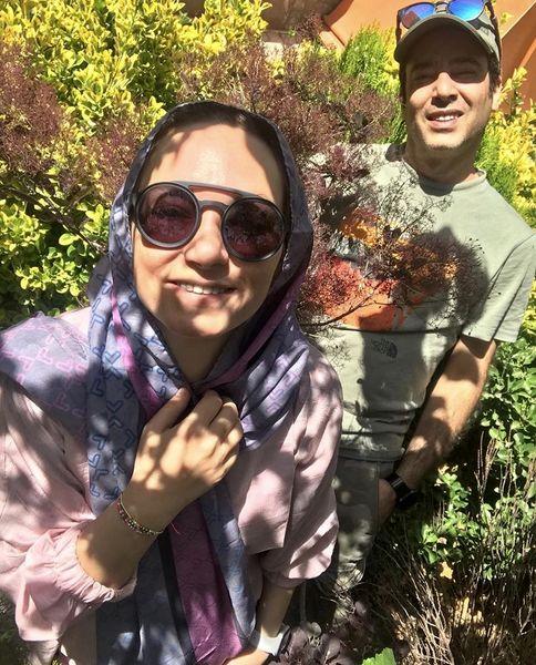 زوج دوست داشتنی سینمای ایران در دل طبیعت + عکس