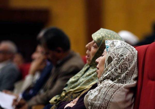 خواب عمیق هنگام سخنرانی جهانگیری!