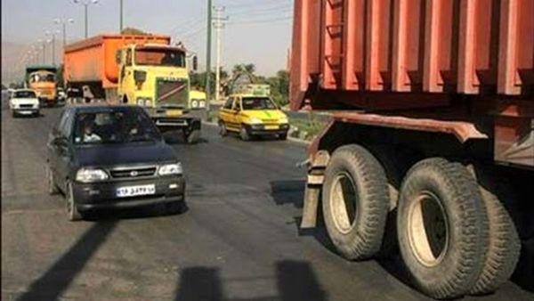 ممنوعیت تردد شبانه کلیه خودروهای سنگین و دیزلی از روز شنبه