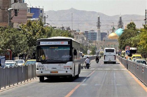 تعطیلی مترو و اتوبوس مشهد تا اطلاع ثانوی