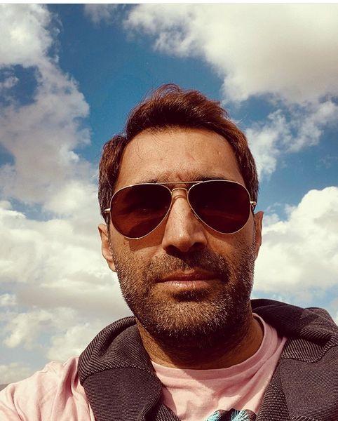 هادی کاظمی در زیر آسمان شهر + عکس