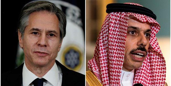 وزیر امور خارجه آمریکا با همتای سعودی خود تلفنی گفتوگو کرد
