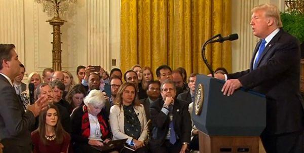 ممنوعیت ورودخبرنگار سیانان به کاخ سفید
