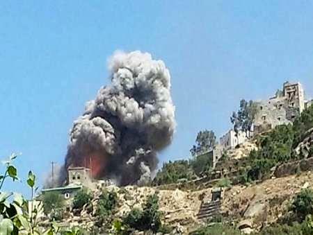 جنگنده های عربستان جنوب صنعا را هدف قرار دادند