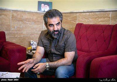 مسلم آقاجانزاده تهیه کننده در پشت صحنه مجموعه تلویزیونی کلبه عمو پورنگ
