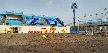 تمرین تیمهای فوتبال ساحلی اوراسیا در یزد آغاز شد
