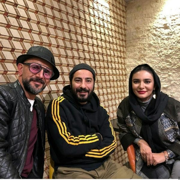 نوید محمدزاده ،امین حیایی و لیندا کیانی در یک قاب+عکس