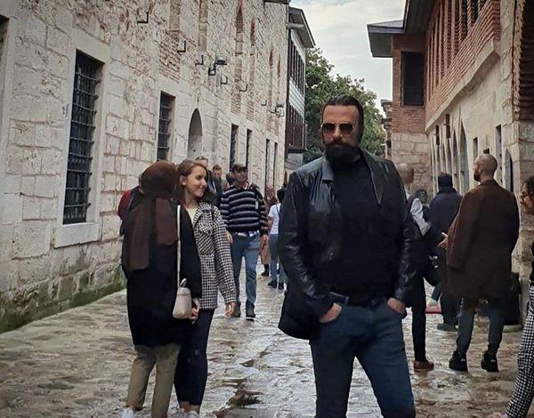 بازیگر نجلا در ترکیه + عکس