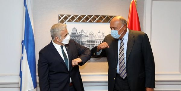 جزئیات  ملاقات وزیر خارجه مصر با همتای صهیونیست خود