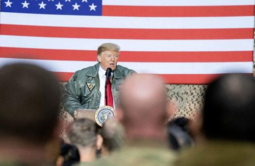 ترامپ: در عراق میمانیم تا حواسمان به ایران باشد!
