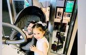 دو دختر ناز شاهرخ استخری در یک قاب
