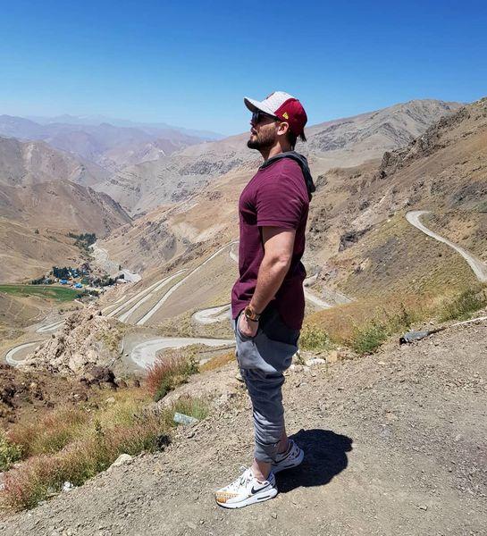 دانیال عبادی بی حوصله و خسته لب دره+عکس