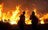 تایم لپس دود عظیم آتش سوزی در یکی از ایالتهای آمریکا + فیلم