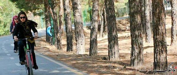 دوچرخه سواری بانوان در طرقبه و شاندیز ممنوع شد