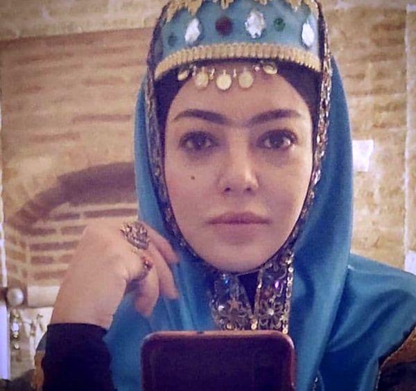 گریم قاجاری رزیتا غفاری + عکس