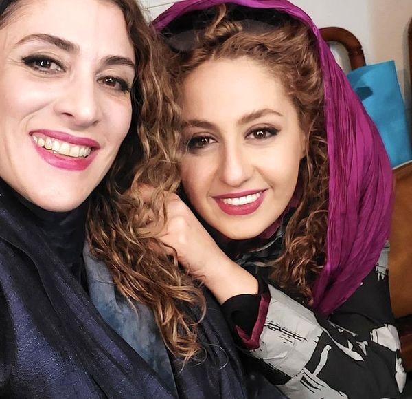 ویشکا آسایش و دوستش + عکس