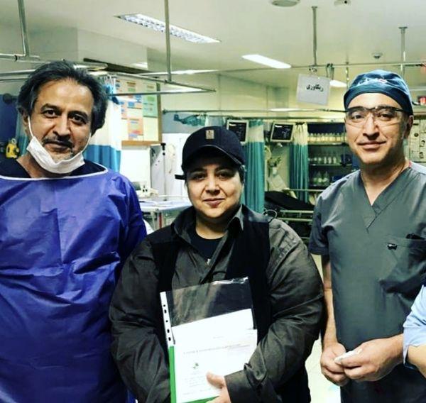 شهره لرستانی در بیمارستان + عکس