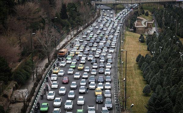 ترافیک در محور ایلام به مهران