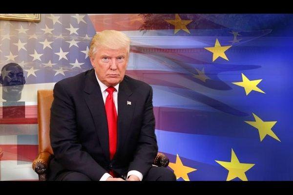 دشمنی رئیس جمهور آمریکا با اتحادیه اروپا