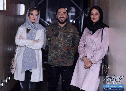 پریناز ایزدیار، نوید محمدزاده و ستاره پسیانی در سینما آزادی/تصاویر