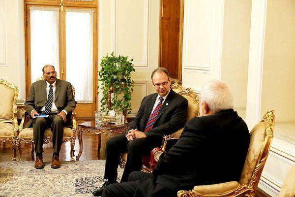 رئیس جدید دفتر فائو در ایران با ظریف دیدار کرد