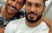 گلزار و دوستش سینا خان + عکس