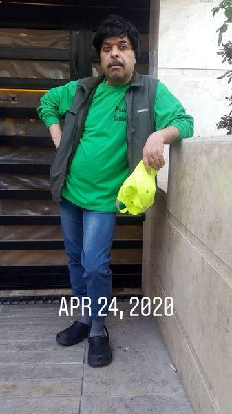 گریم کمدین معروف در سریال میانبر + عکس