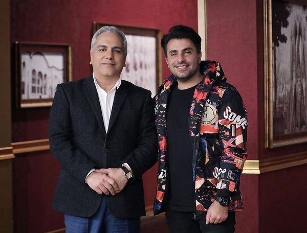 علیرضا طلیسچی در کنار کارگردان مشهور + عکس