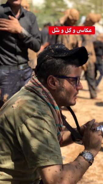 مهران رنجبر عکاس شد + عکس