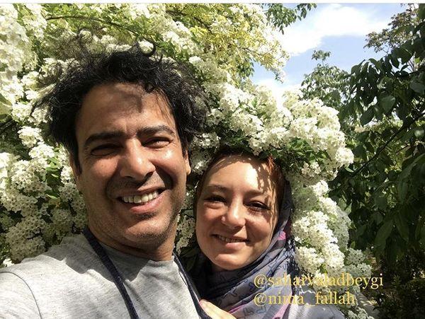 عکس گل گلی نیما شعبان نژاد و سحر ولدبیگی