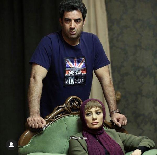 زن و شوهر دل + عکس